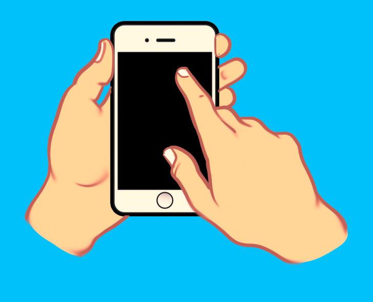 Cách cầm điện thoại sẽ nói lên được tính cách tiềm ẩn sâu bên trong bạn