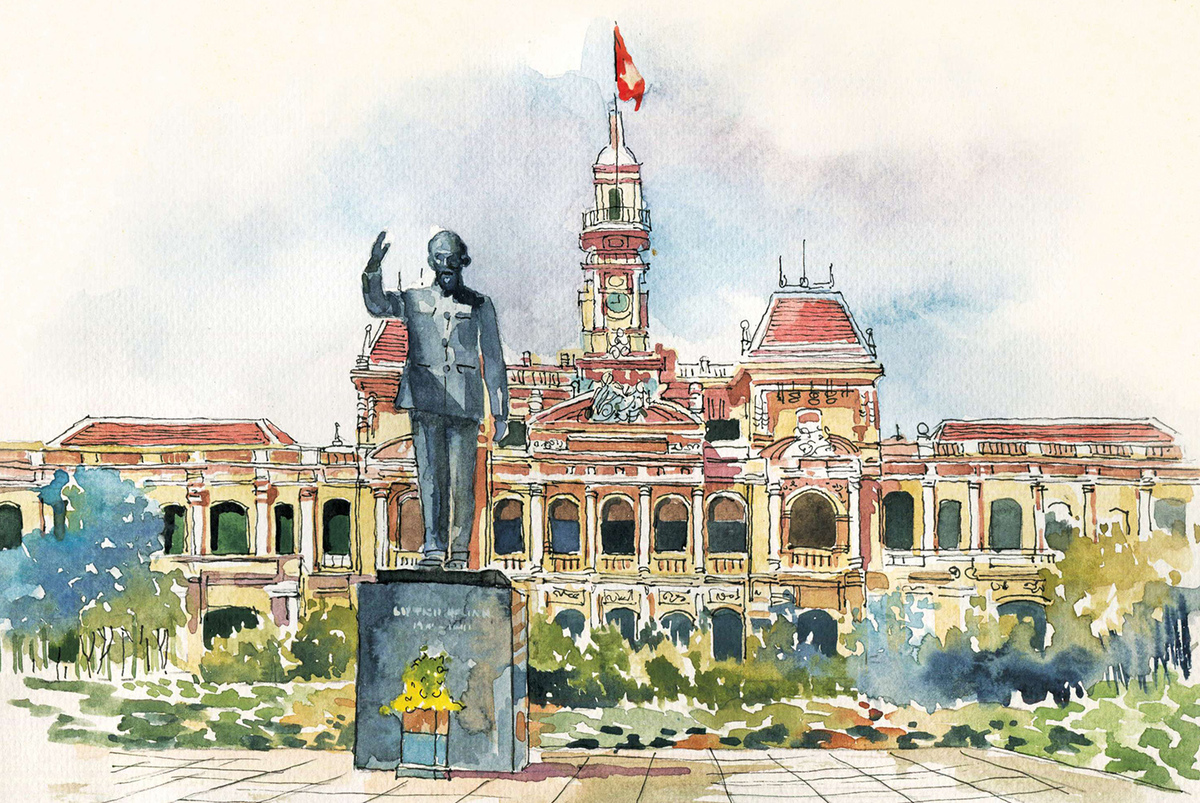 Có một Sài Gòn không ai lỡ rời đi