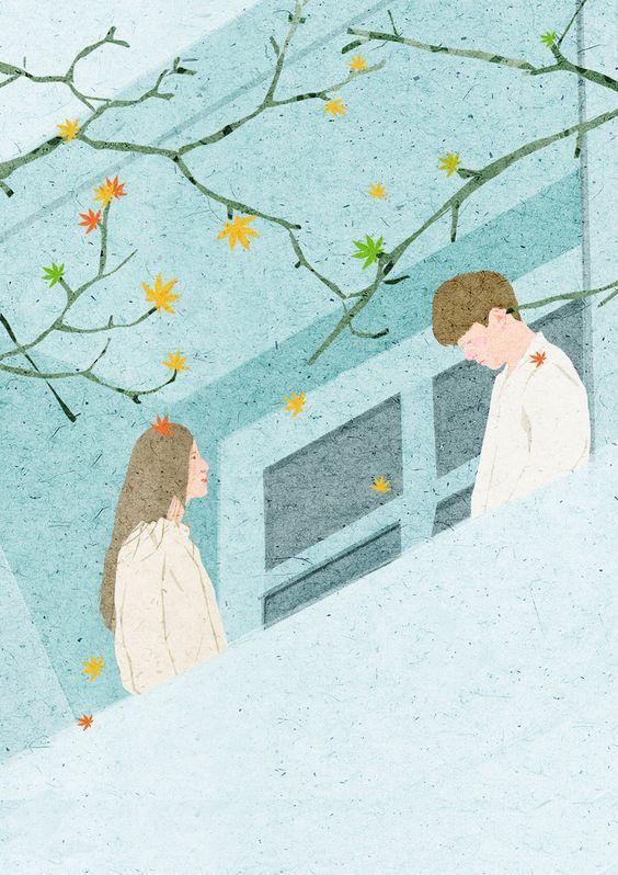 Ta bên nhau vào những ngày ngược gió rồi từ bỏ vào một ngày nắng có mây