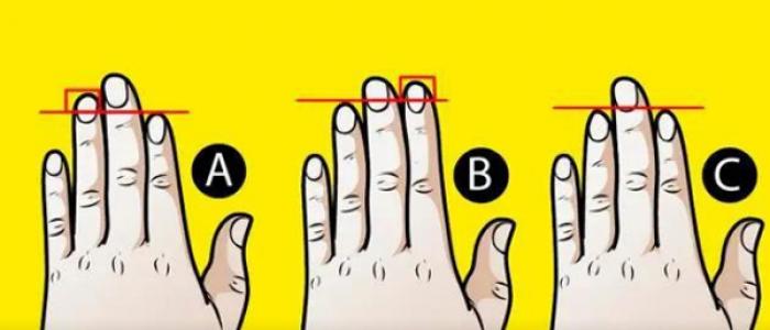 Xòe bàn tay trái ra xem bạn thuộc kiểu nào, sẽ có những tiết lộ bất ngờ về bản thân bạn