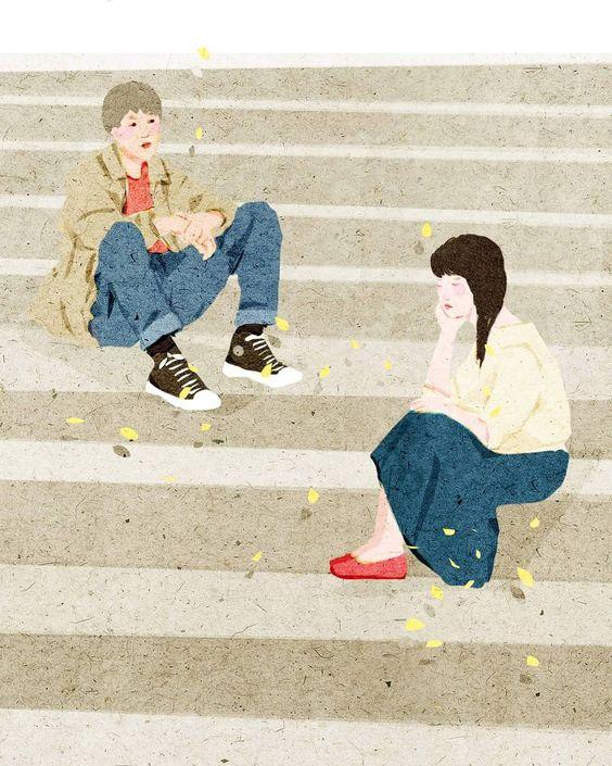 Người ta nói những người yêu nhau có duyên không phận như hai đường thẳng song song không thể gặp nhau. Nhưng cuộc đời cả hai chúng ta giống như hai đường thẳng cắt nhau vậy, chỉ cắt nhau tại một điểm duy nhất và chia hai ngả tiếp tục đi mà thôi.