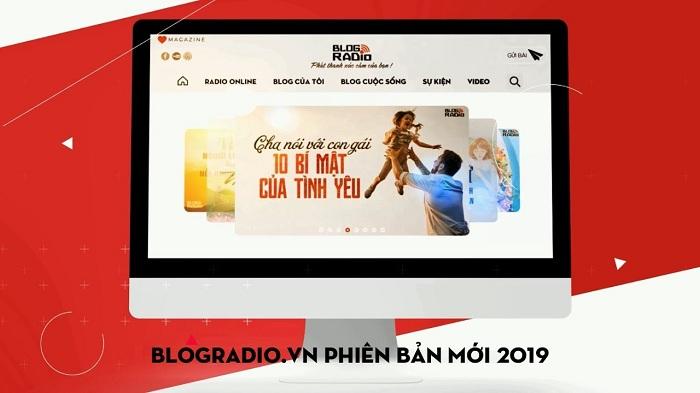 blogradio.vn phiên bản 2019 với giao diện và những tính năng hoàn toàn mới