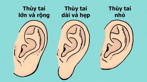 Nhìn dáng thùy tai để đoán tính cách khi yêu của đối phương