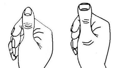 5 giây nhìn ngón tay cái biết ngay số ai sướng, số ai khổ