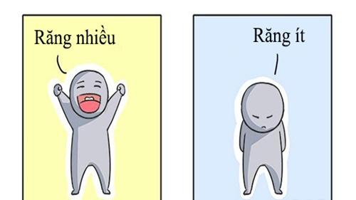 Đoán mệnh sướng khổ qua hàm răng