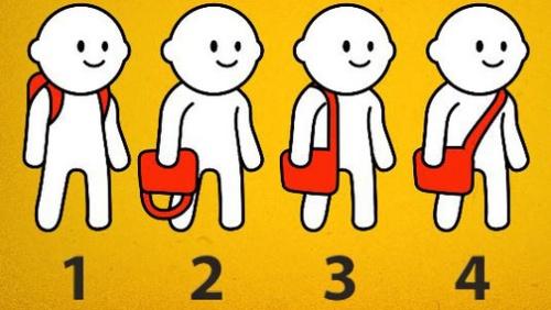 Thói quen đeo túi tiết lộ tính cách của bạn