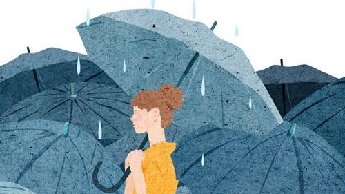 Hết mưa rồi trời sẽ tạnh phải không anh?