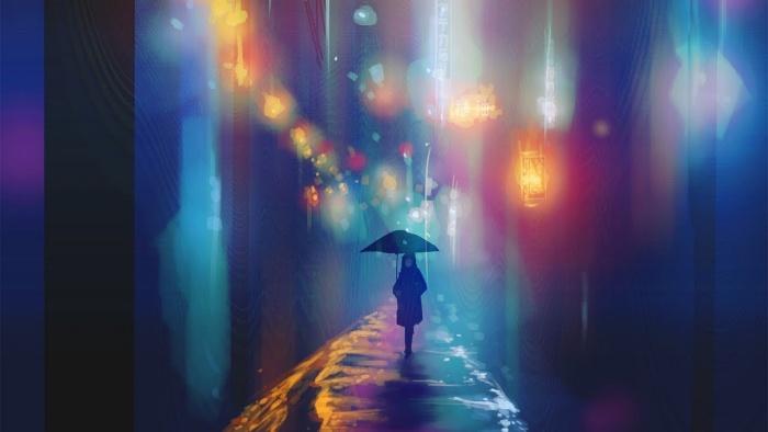 Tại mưa ướt đường trơn, nên tình yêu trượt ngã