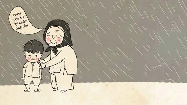 Đi nhặt hạt mưa rơi