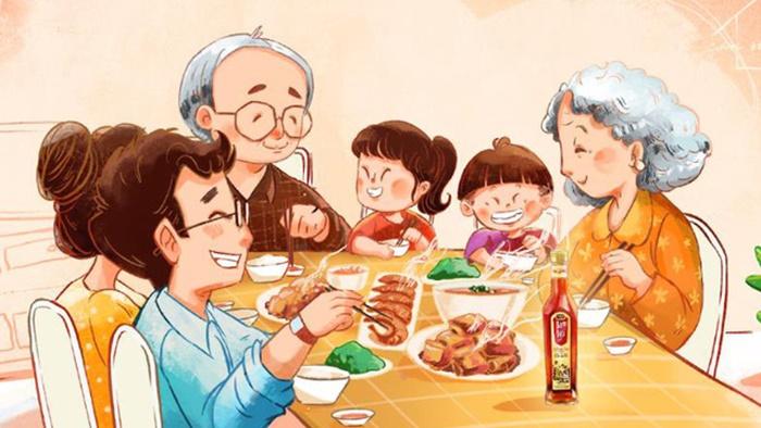 Nhớ lắm bữa cơm gia đình