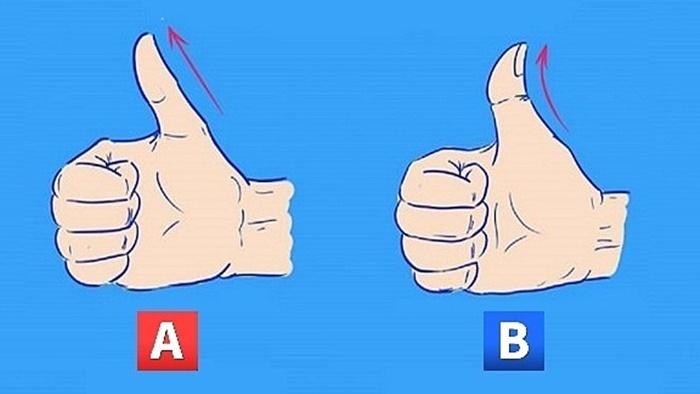 Ngón tay cái tiết lộ tính cách gì của bạn?