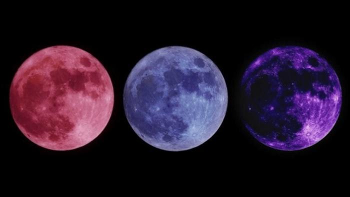 Hãy chọn mặt trăng bạn thích nhất để biết túi tiền đầy hay vơi trong thời gian tới