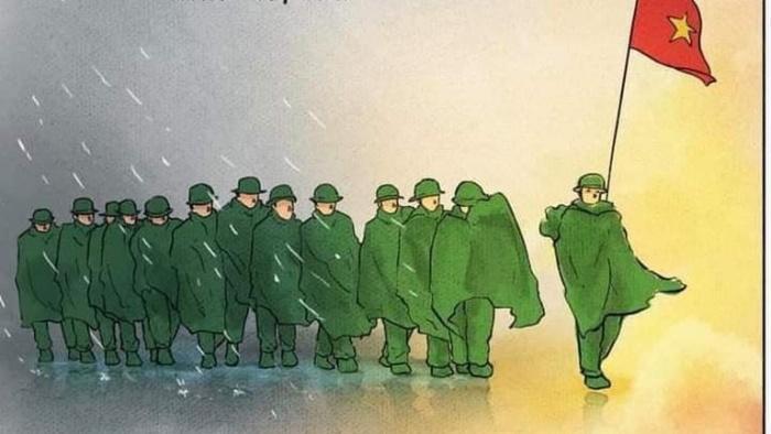 Cảm ơn các anh - những chiến sĩ áo xanh dũng cảm