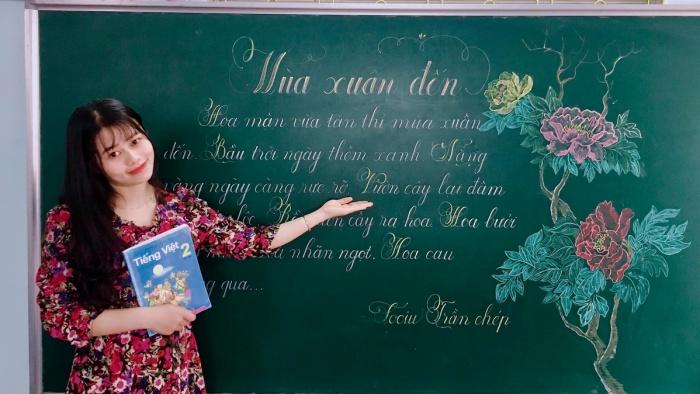 Niềm vui nghề giáo