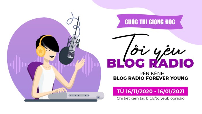 Cuộc thi giọng đọc 'Tôi yêu Blog Radio'