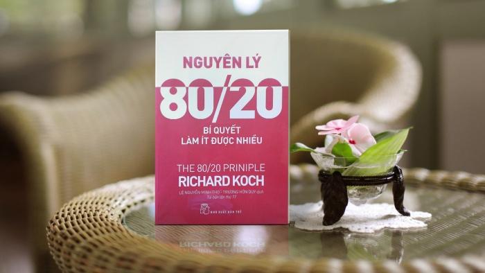 'Nguyên lí 80/20 – Bí quyết làm ít được nhiều' - quyển sách đáng đọc để làm việc hiệu quả và hạnh phúc hơn