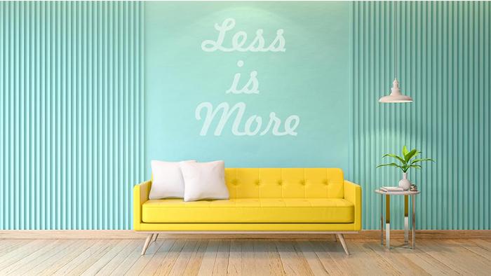 Năm mới tập sống tối giản: 7 lưu ý quan trọng cho một lối sống mới, thuận tiện nhưng đòi hỏi kiên trì
