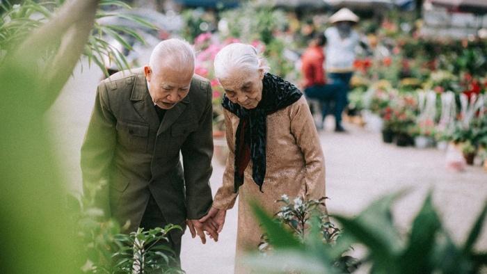 Hẹn đến khi già ta sẽ lại dắt tay nhau
