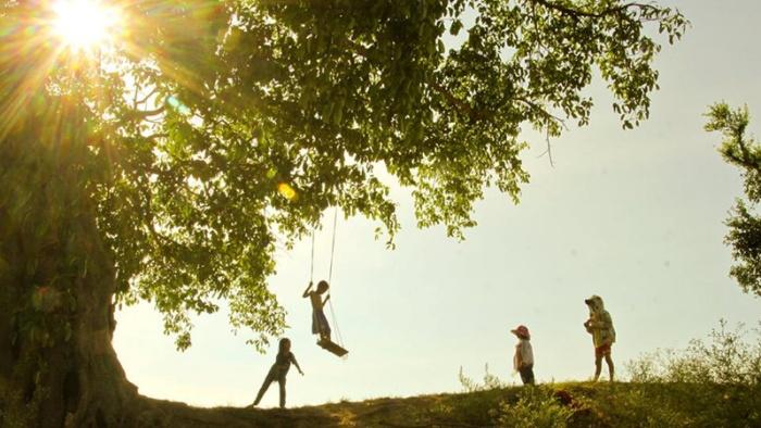 Tuổi thơ luôn là khoảng thời gian hạnh phúc nhất