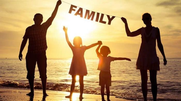 Gia đình là nơi được lấp đầy bằng yêu thương