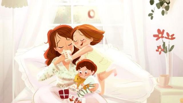 Ai cũng có quyền được hạnh phúc phải không mẹ?