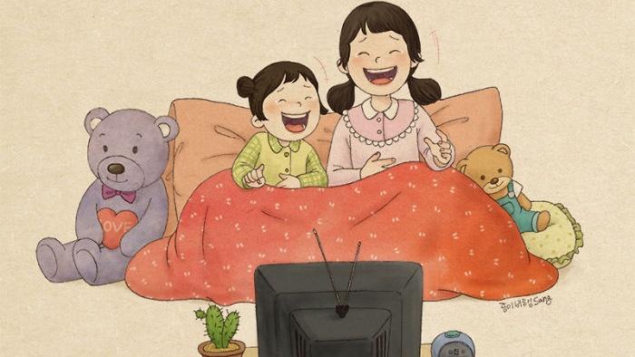 Ký ức đẹp trong tuổi thơ tôi là chị