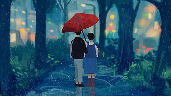 Người cùng tôi năm ấy trú mưa